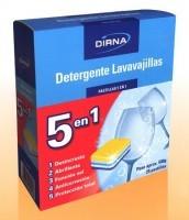 Detergente Lavavajillas Pastillas 5 en 1