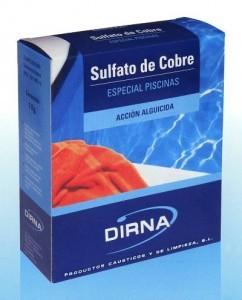 Sulfato de cobre para piscinas
